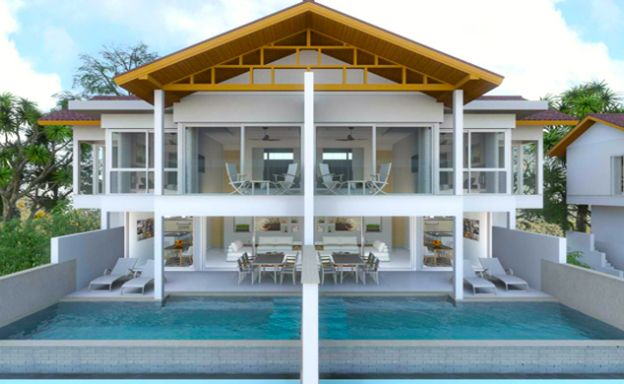 New Sea View Pool Villas by Choeng Mon Beach