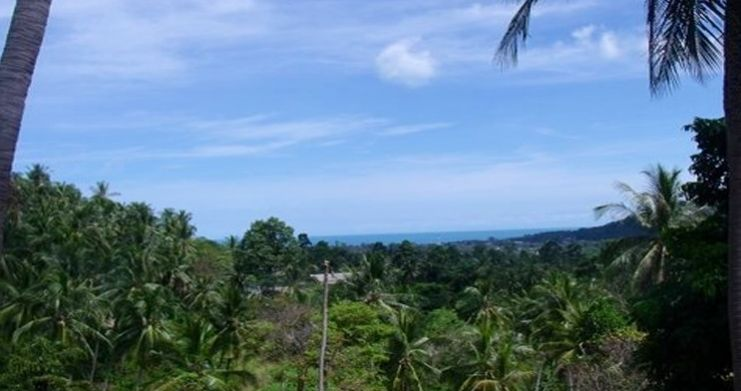 Superb Sea View Land Plots for Sale in Peaceful Lamai-2