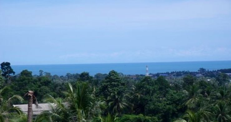 Superb Sea View Land Plots for Sale in Peaceful Lamai-1