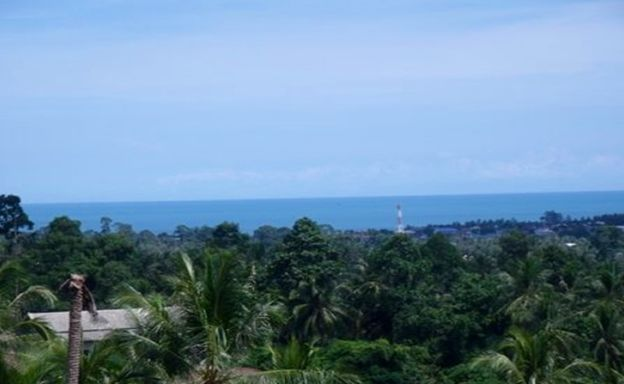 Superb Sea View Land Plots for Sale in Peaceful Lamai