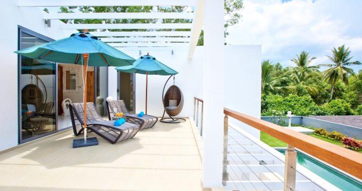 Beachside 3 Bedroom Luxury Pool Villa in Lipa Noi-10