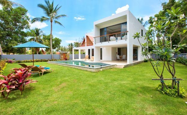 Beachside 3 Bedroom Luxury Pool Villa in Lipa Noi