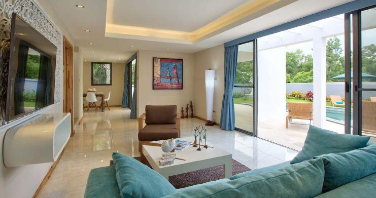 Beachside 3 Bedroom Luxury Pool Villa in Lipa Noi-4