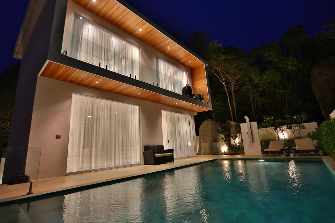 Unique Design Luxury Pool Villa on Lamai Hillside-24