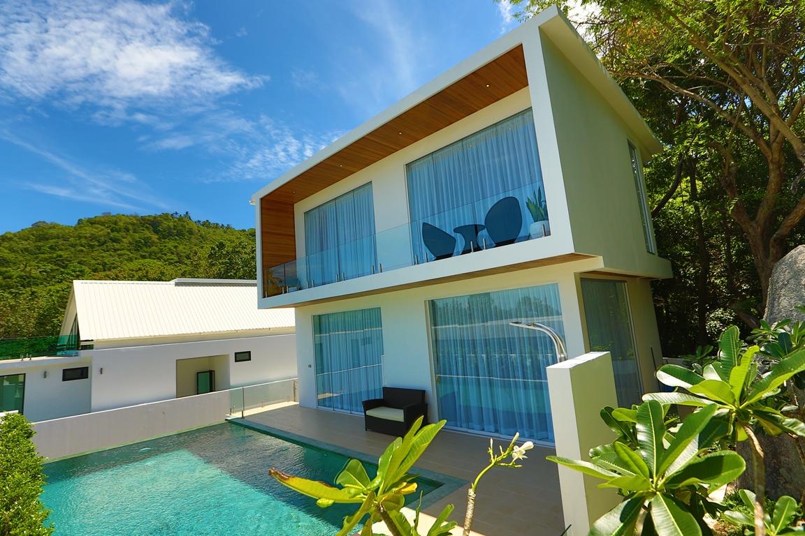 Unique Design Luxury Pool Villa on Lamai Hillside-14