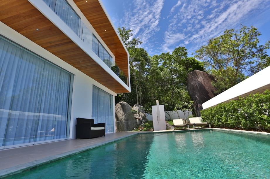 Unique Design Luxury Pool Villa on Lamai Hillside-13