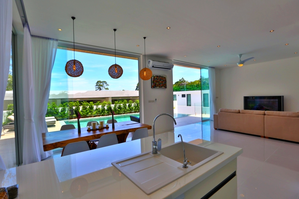Unique Design Luxury Pool Villa on Lamai Hillside-4