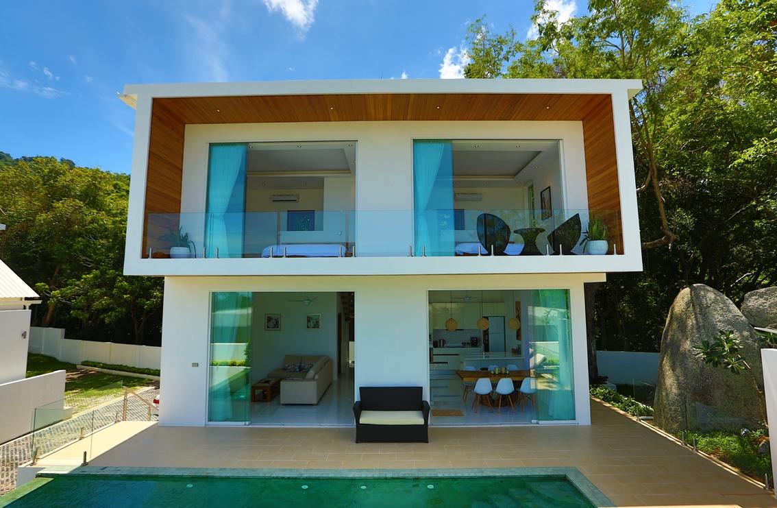 Unique Design Luxury Pool Villa on Lamai Hillside-12
