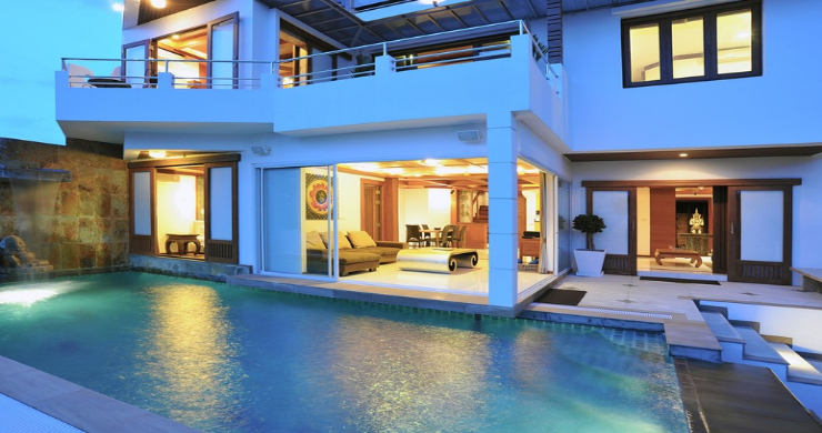 Unique Sunset Sea-view 6 Bedroom Villa on Bangrak-17