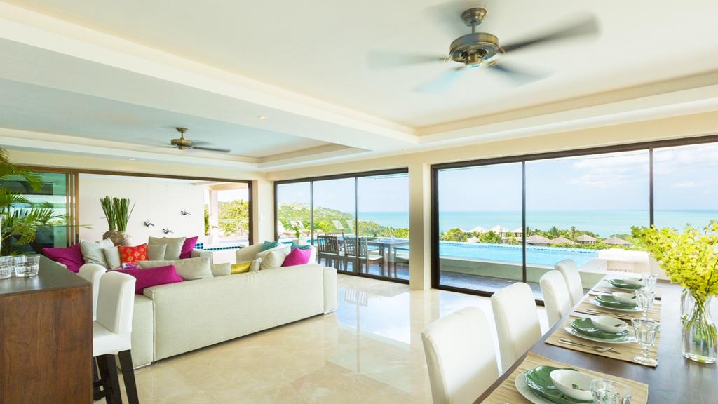 Luxury 6 Bedroom Sea-view Villa on Choeng Mon Peak-4