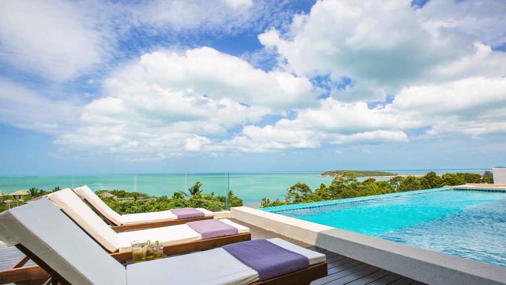 Luxury 6 Bedroom Sea-view Villa on Choeng Mon Peak-17