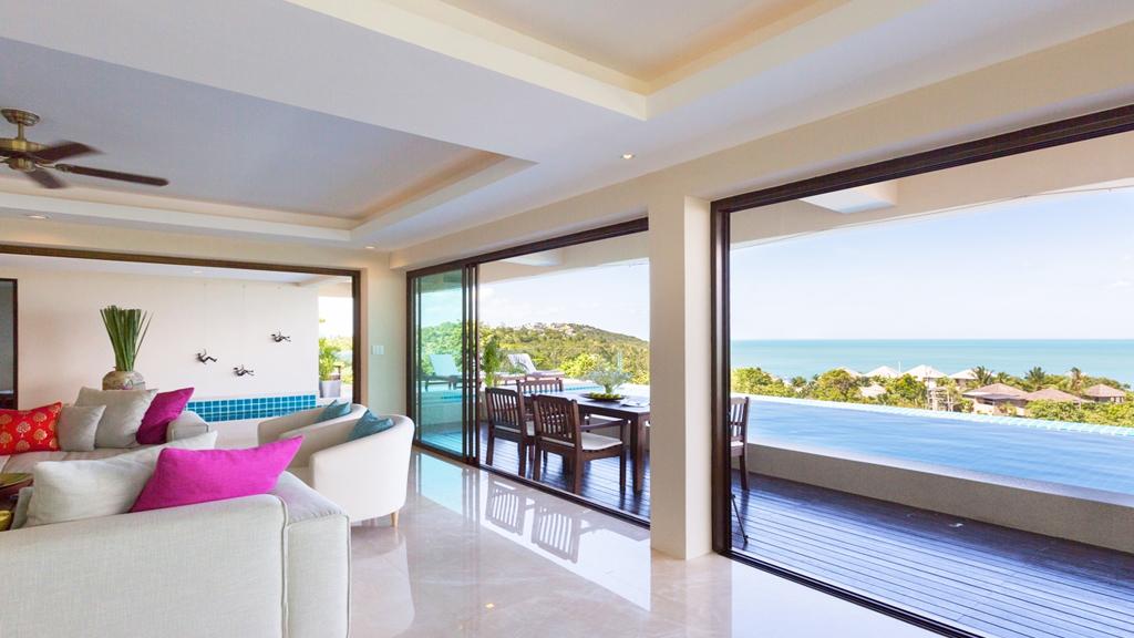 Luxury 6 Bedroom Sea-view Villa on Choeng Mon Peak-6
