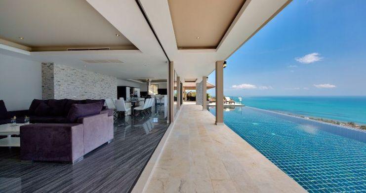 Unique 7 Bedroom Sunset Sea-View Luxury Pool Villa-7