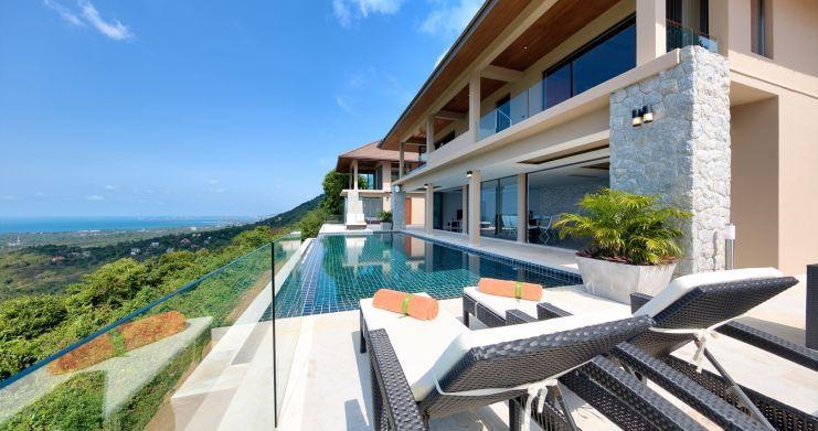 Unique 7 Bedroom Sunset Sea-View Luxury Pool Villa-1