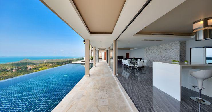 Unique 7 Bedroom Sunset Sea-View Luxury Pool Villa-3