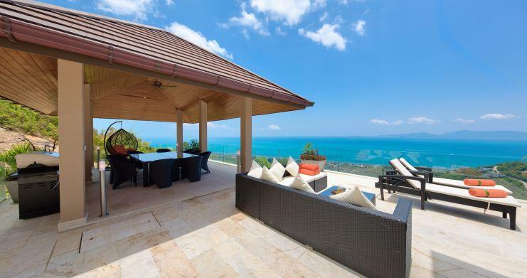 Unique 7 Bedroom Sunset Sea-View Luxury Pool Villa-2