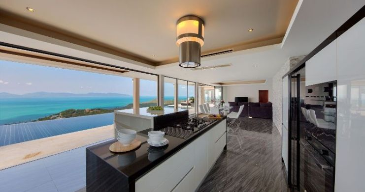 Unique 7 Bedroom Sunset Sea-View Luxury Pool Villa-12