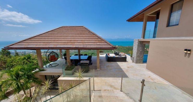 Unique 7 Bedroom Sunset Sea-View Luxury Pool Villa-6