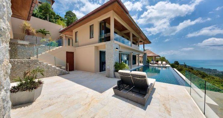 Unique 7 Bedroom Sunset Sea-View Luxury Pool Villa-4