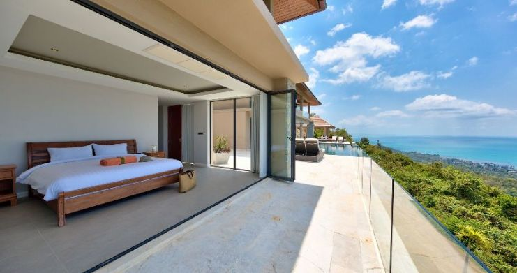Unique 7 Bedroom Sunset Sea-View Luxury Pool Villa-30
