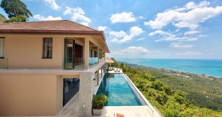 Unique 7 Bedroom Sunset Sea-View Luxury Pool Villa-5