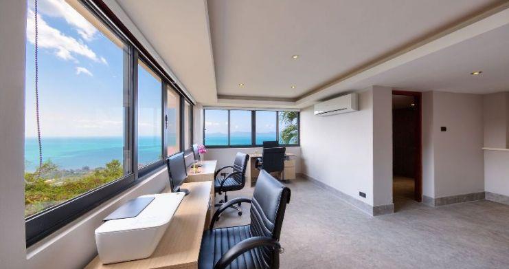 Unique 7 Bedroom Sunset Sea-View Luxury Pool Villa-14