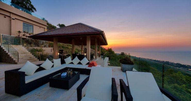 Unique 7 Bedroom Sunset Sea-View Luxury Pool Villa-41