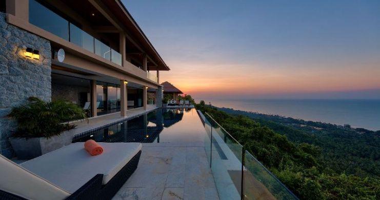 Unique 7 Bedroom Sunset Sea-View Luxury Pool Villa-42