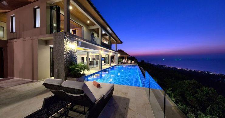 Unique 7 Bedroom Sunset Sea-View Luxury Pool Villa-45