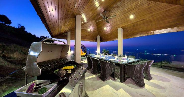 Unique 7 Bedroom Sunset Sea-View Luxury Pool Villa-43