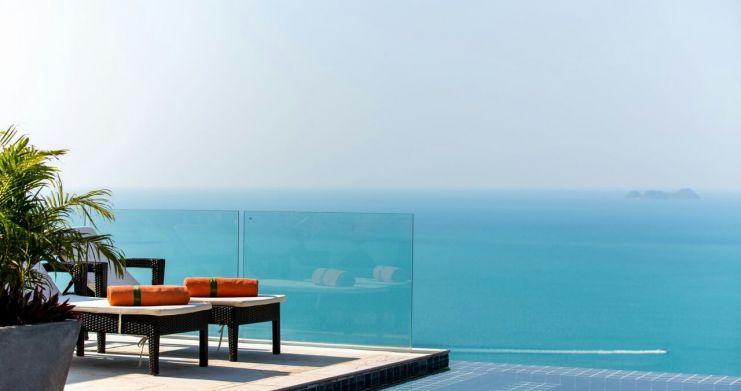 Unique 7 Bedroom Sunset Sea-View Luxury Pool Villa-18