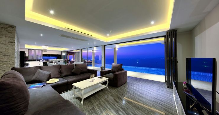 Unique 7 Bedroom Sunset Sea-View Luxury Pool Villa-16