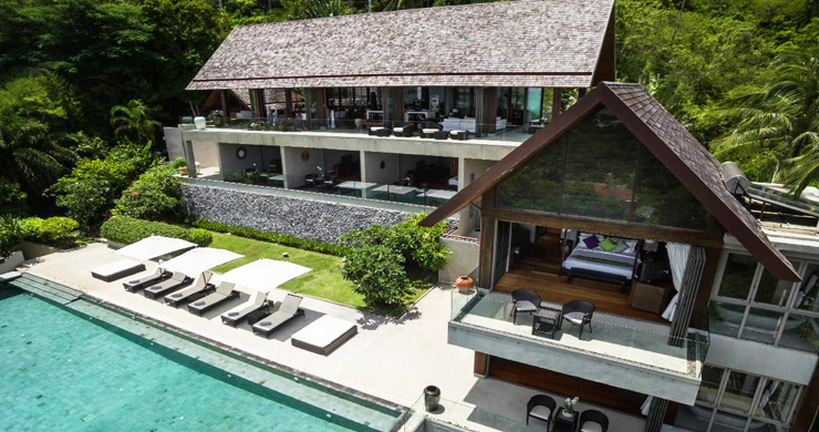 Unique 6 Bed Luxury Sea view Villa on Bophut Peak-1