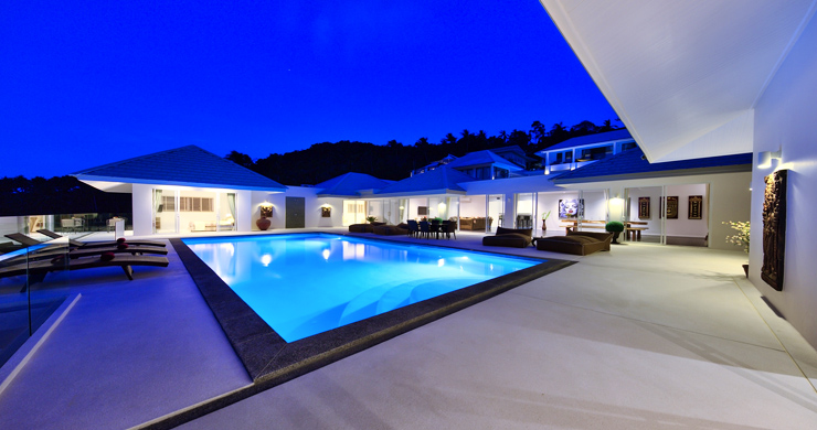 Exclusive 7 Bedroom Sea-view Pool Villa in Maenam-36