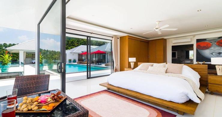 Exclusive 7 Bedroom Sea-view Pool Villa in Maenam-17