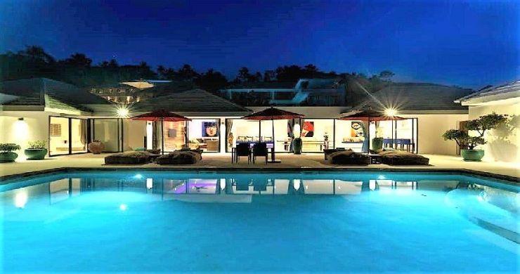 Exclusive 7 Bedroom Sea-view Pool Villa in Maenam-43