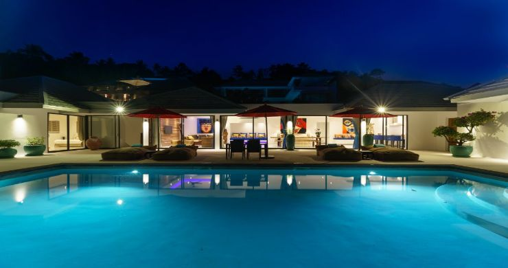 Exclusive 7 Bedroom Sea-view Pool Villa in Maenam-24