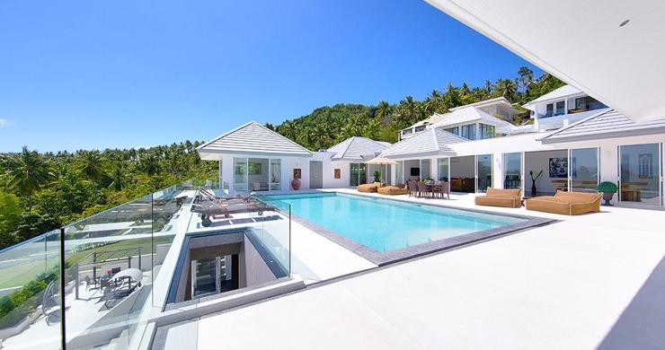 Exclusive 7 Bedroom Sea-view Pool Villa in Maenam-4