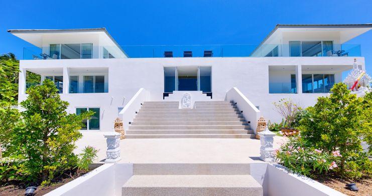 Exclusive 7 Bedroom Sea-view Pool Villa in Maenam-21