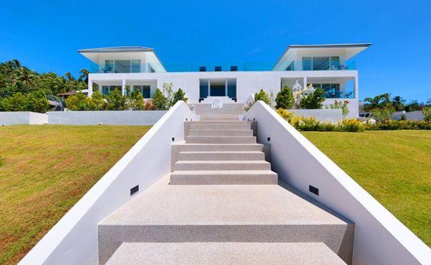 Exclusive 7 Bedroom Sea-view Pool Villa in Maenam
