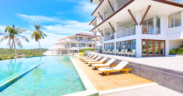 2 Bedroom Sea-view Freehold Condo on Plai Laem Bay-1