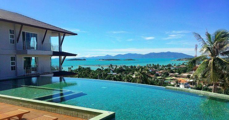 2 Bedroom Sea-view Freehold Condo on Plai Laem Bay-13