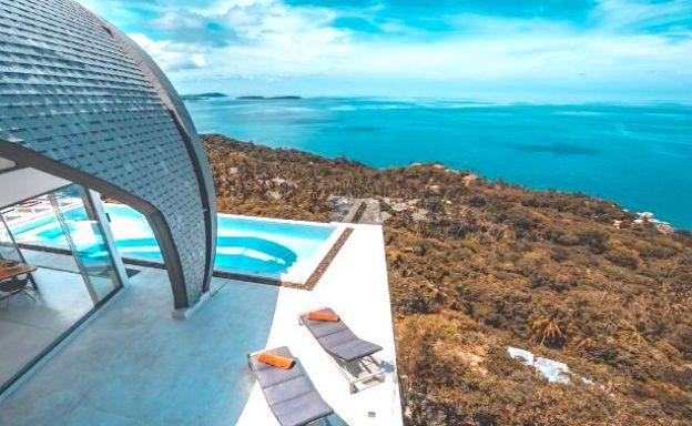 Luxury 6 Bedroom Seaview Villa on Chaweng Noi Peak