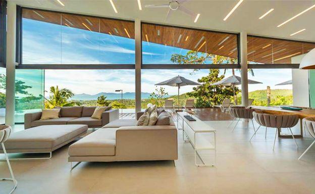New Modern 3-4 Bedroom Luxury Pool Villas in Maenam