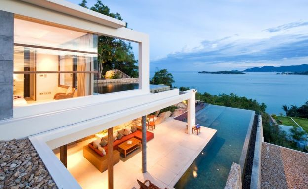 Ultra Modern 4 Bedroom Sea view Villa in Choeng Mon