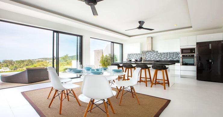 New Ocean View Luxury Pool Villas on Bophut Hillside-9