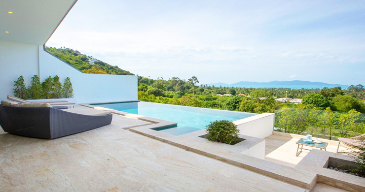 New Ocean View Luxury Pool Villas on Bophut Hillside-2