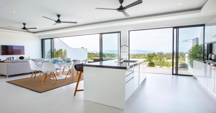 New Ocean View Luxury Pool Villas on Bophut Hillside-8