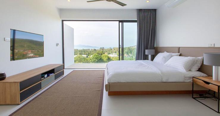 New Ocean View Luxury Pool Villas on Bophut Hillside-10