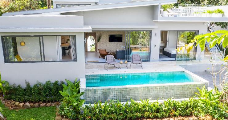 New 2 Bedroom Modern Pool Villas in Bophut Hills-12